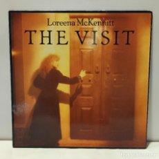 Discos de vinilo: LOREENA MCKENNITT - THE VISIT. VINILO (LP, ALBUM). 1991 QUINLAN ROAD. CCM2. Lote 269297053