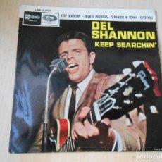 Dischi in vinile: DEL SHANNON, EP, KEEP SEARCHIN´ + 3, AÑO 1965. Lote 269301628