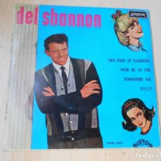 Dischi in vinile: DEL SHANNON, EP, TWO KINDS OF TEARDROPS + 3, AÑO 1963. Lote 269302553