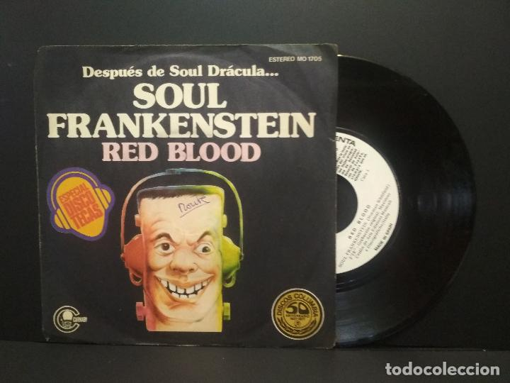 RED BLOOD - SOUL FRANKENSTEIN - SINGLE PROMOCIONAL - 1977 PEPETO (Música - Discos - Singles Vinilo - Funk, Soul y Black Music)