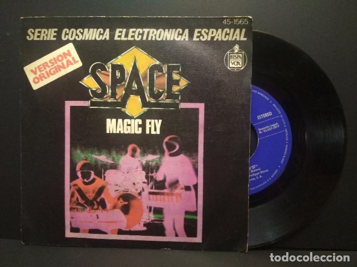 SPACE. SERIE COSMICA ELECTRONICA ESPACIAL. MAGIC FLY. 1977 SINGLE PEPETO (Música - Discos - Singles Vinilo - Pop - Rock - Internacional de los 70)