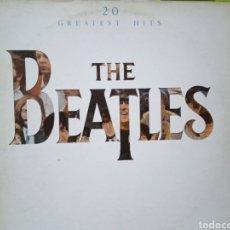 Discos de vinilo: THE BEATLES 20 GREATEST HITS. Lote 269313668