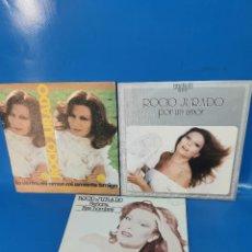"""Discos de vinilo: LOTE 3 EPS 7"""" ROCIO JURADO- SEÑORA-ESE HOMBRE-POR UN AMOR BUEN ESTADO. Lote 269314063"""