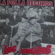 Disques de vinyle: LA POLLA RECORDS. LP. LOS JUBILADOS. PUNK ROCK VASCO. LIBRETO COMIC 12 PAGS. OIHUKA.1990. Lote 269314153