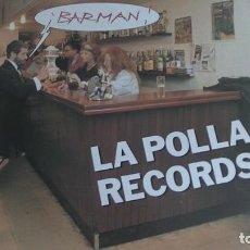 Disques de vinyle: LA POLLA RECORDS - BARMAN - MAXI / MINI LP - OIHUKA 1991 CON LETRAS. Lote 269317098