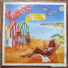Discos de vinilo: KADETES - VACACIONES EN EL MAR (MX) 1986. Lote 269317543
