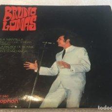 Discos de vinilo: EP BRUNO LOMAS - LA MANTILLA Y OTROS TEMAS - DISCOPHON 27.540 -PEDIDOS MINIMO 7€. Lote 269325678