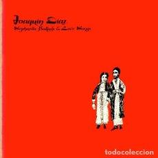 Disques de vinyle: JOAQUÍN DÍAZ - SEPHARDIC BALLADS AND LOVE SONGS - LP DE EDICIÓN NORTEAMERICANA/USA. RARO E INCUNABLE. Lote 269326708