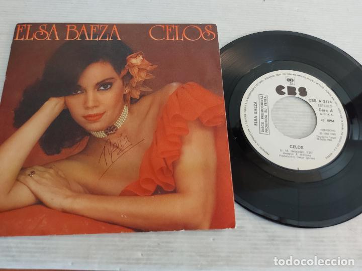 ELSA BAEZA / CELOS / SINGLE PROMO - CBS-1982 / MBC. ***/*** (Música - Discos - Singles Vinilo - Solistas Españoles de los 70 a la actualidad)