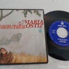 Discos de vinil: MARIA OSTIZ / ALELUYA DEL SILENCIO / SINGLE-HISPAVOX-1968 / MBC. ***/***. Lote 269338163