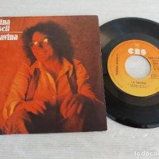 Discos de vinilo: MARINA ROSSELL / LA GAVINA-EL JUTGE / SINGLE - CBS-1978 / MBC. ***/***. Lote 269341113