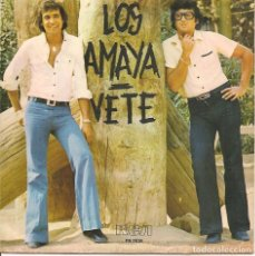 Disques de vinyle: LOS AMAYA,VETE DEL 77. Lote 269342333