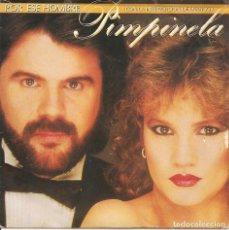 Discos de vinilo: PIMPINELA CON DYANGO,POR ESE HOMBRE PROMO DE 1 SOLA CARA DEL 85. Lote 296934903