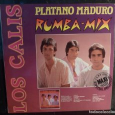 Discos de vinilo: LOS CALIS // PLATANO MADURO // 1988 // MAXI //(VG VG).MAXI. Lote 269345593