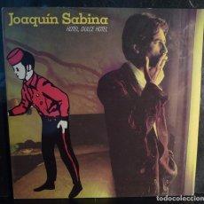 Discos de vinilo: JOAQUIN SABINA // HOTEL DULCE HOTEL // ENCARTE // 1987 //(VG VG). LP. Lote 269347203