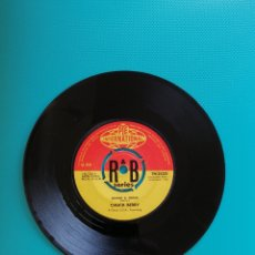 Dischi in vinile: CHUCK BERRY G JONNY B. GOODE/RUN RUDOLPH RUN 1960. Lote 269353983