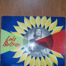 Discos de vinilo: LOLA BELTRAN, CUCURRUCUCU PALOMA. Lote 269357653