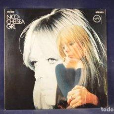 Discos de vinilo: NICO - CHELSEA GIRL - EDICIÓN ALEMANA (REF 710 008) - LP. Lote 269358953