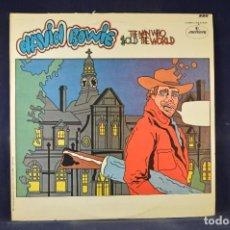 Discos de vinilo: DAVID BOWIE - THE MAN WHO SOLD THE WORLD - LP. Lote 269362663