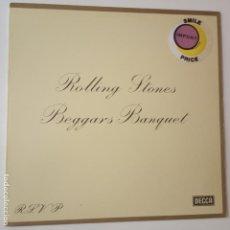 Discos de vinilo: THE ROLLING STONES- BEGGARS BANQUET - GERMAN LP 1982- VINILO COMO NUEVO.. Lote 269363403