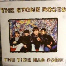 Discos de vinilo: LP THE STONE ROSES THE TIME HAS COME VINILO EARLY DEMOS. Lote 269364303