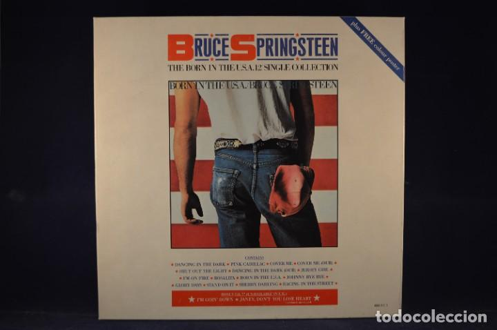 """BRUCE SPRINGSTEEN - THE BORN IN THE U.S.A. 12"""" SINGLE COLLECTION - 4 LP + SINGLE + PÓSTER (Música - Discos - LP Vinilo - Rock & Roll)"""