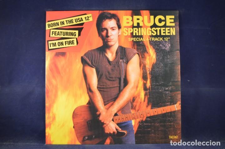 "Discos de vinilo: BRUCE SPRINGSTEEN - THE BORN IN THE U.S.A. 12"" SINGLE COLLECTION - 4 LP + SINGLE + PÓSTER - Foto 5 - 269368443"