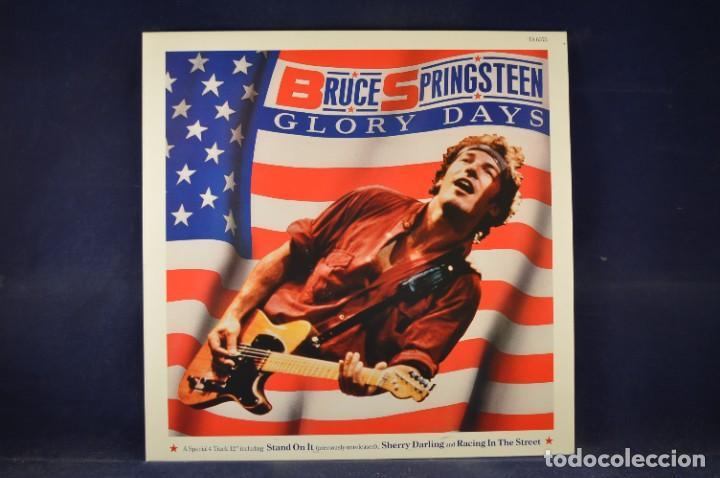 "Discos de vinilo: BRUCE SPRINGSTEEN - THE BORN IN THE U.S.A. 12"" SINGLE COLLECTION - 4 LP + SINGLE + PÓSTER - Foto 7 - 269368443"