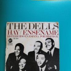 Dischi in vinile: THE DELLS - HAY/ENSÉÑAME 1968. Lote 269368553