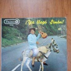 Discos de vinilo: YA LLEGÓ SIMON. Lote 269368648