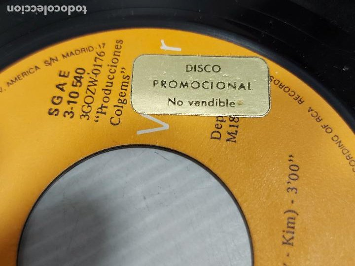 Discos de vinilo: THE MONKEES / OH MY MY / I LOVE YOU BETTER / SINGLE PROMO-RCA-VICTOR-1970 / MBC. ***/*** - Foto 2 - 269371488