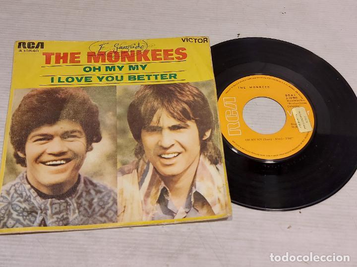 THE MONKEES / OH MY MY / I LOVE YOU BETTER / SINGLE PROMO-RCA-VICTOR-1970 / MBC. ***/*** (Música - Discos - Singles Vinilo - Pop - Rock - Internacional de los 70)