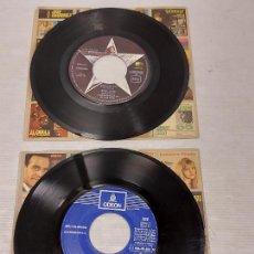 Discos de vinilo: GEORGE HARRISON / RINGO STARR / DOS SINGLES DE BUENA CALIDAD SIN CARPETAS / MBC. ***/***. Lote 269372663