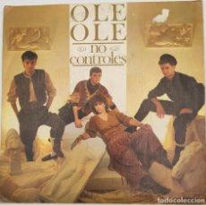 """Discos de vinilo: VINILO DE 7 PULGADAS DE OLE OLE QUE CONTIENE """" NO CONTROLES"""" Y """"ES UN JUEGO"""". DISCOGRÁFICA: CBS.. Lote 269378703"""