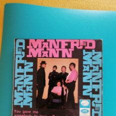 Dischi in vinile: MANFRED MAN - YOU GAVE ME SOMEBODY TO LOVE + 3. 1966. Lote 269380428