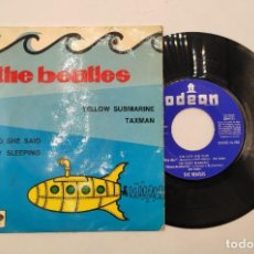 "Discos de vinilo: VINILO DE 7 PULGADAS DE THE BEATLES QUE CONTIENE ""SHE SAID SHE SAID"", "" I'M ONLY SLEEPING""..... Lote 269380893"
