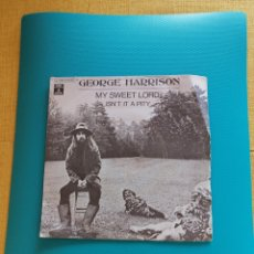 Dischi in vinile: GEORGE HARRISON - MY SWEET LORD/IS'NT IT A PITY 1970. Lote 269380898