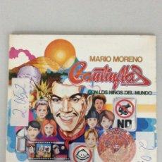 Discos de vinilo: MARIO MORENO CANTINFLAS. CON LOS NIÑOS DEL MUNDO.. Lote 269381313