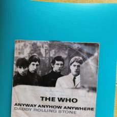 Dischi in vinile: THE WHO - ANYWAY ANYHOW ANYWHERE/DADDY ROLLING STONE 1965. Lote 269387238