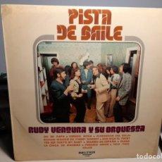 Discos de vinilo: LP RUDY VENTURA Y SU ORQUESTA : PISTA DE BAILE ( OH MI PAPA, LA CHICA DE IPANEMA, QUE SIGA EL TWIST. Lote 269388858