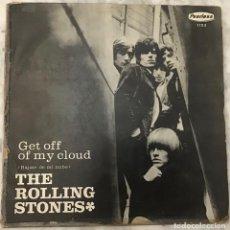 Discos de vinilo: THE ROLLING STONES-GET OFF MY CLOUD-MÉXICO-RED LABEL-MONO-1965. Lote 269392243