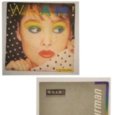 """Discos de vinilo: VINILOS DE 7 PULGADAS DE WHAM QUE CONTIENE """"WAKE UP BEFORE YOU GO-GO"""", """"I'M YOUR MAN"""" .... Lote 269397283"""
