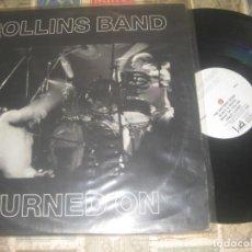 Discos de vinilo: ROLLINS BAND - TURNED ON DOBLE LIVE (1990 QUARTERSTICK RECORDS ?– QS0002) OG USA. Lote 269397503