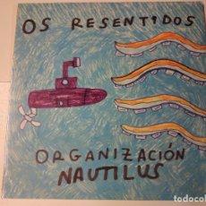 Discos de vinilo: 0621- OS RESENTIDOS ORGANIZACION NAUTILIUS VINILO LP NUEVO PRECINTADO SPAIN 2021. Lote 269397508