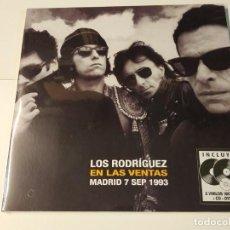 Discos de vinilo: 0621- LOS RODRIGUEZ LAS VENTAS MADRID 1993 2 VIN LP + CD + DVD PRECINTADO SPAIN 2020. Lote 269397728