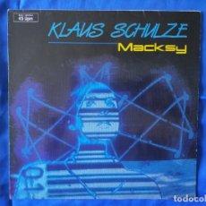 Discos de vinilo: KLAUS SCHULZE.MASKY.RAREZA.LP. Lote 269403043
