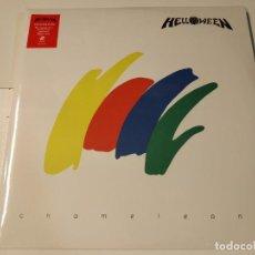 Discos de vinilo: 0621- HELLOWEEN CHAMELEON DOULE VIN LP NUEVO PRECINTADO EU 1993/2016. Lote 269405523