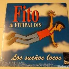 Discos de vinilo: 0621- FITO & FITIPALDIS LOS SUEÑOS LOCOS VINILO LP + CD NUEVO PRECINTADO SPAIN. Lote 269405958