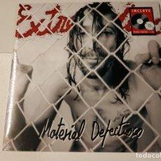 Discos de vinilo: 0621- EXTREMODURO MATERIAL DEFECTUOSO VINILO LP + CD PRECINTADO 2011 SPAIN. Lote 269409043