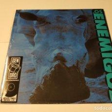 Discos de vinilo: 0621- LOS ENEMIGOS VINILO LP + CD NUEVO PRECINTADO SPAIN 1988/2020. Lote 269410333